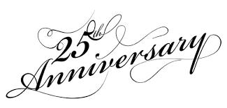 free 25th anniversary clip art.