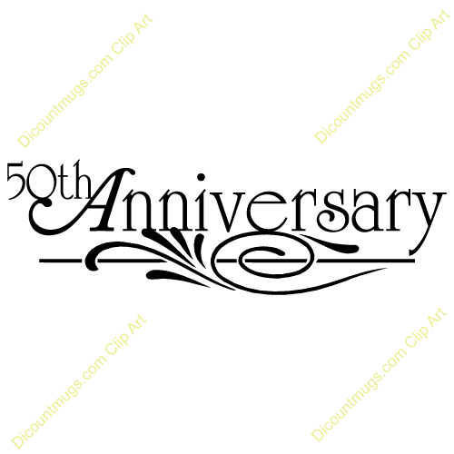 50th Anniversary Clipart Free Download Clip Art.