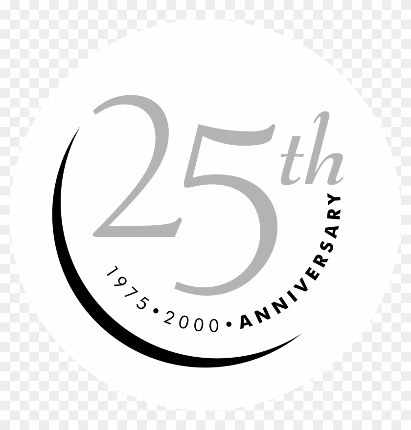 25th Anniversary Logo Png Transparent.