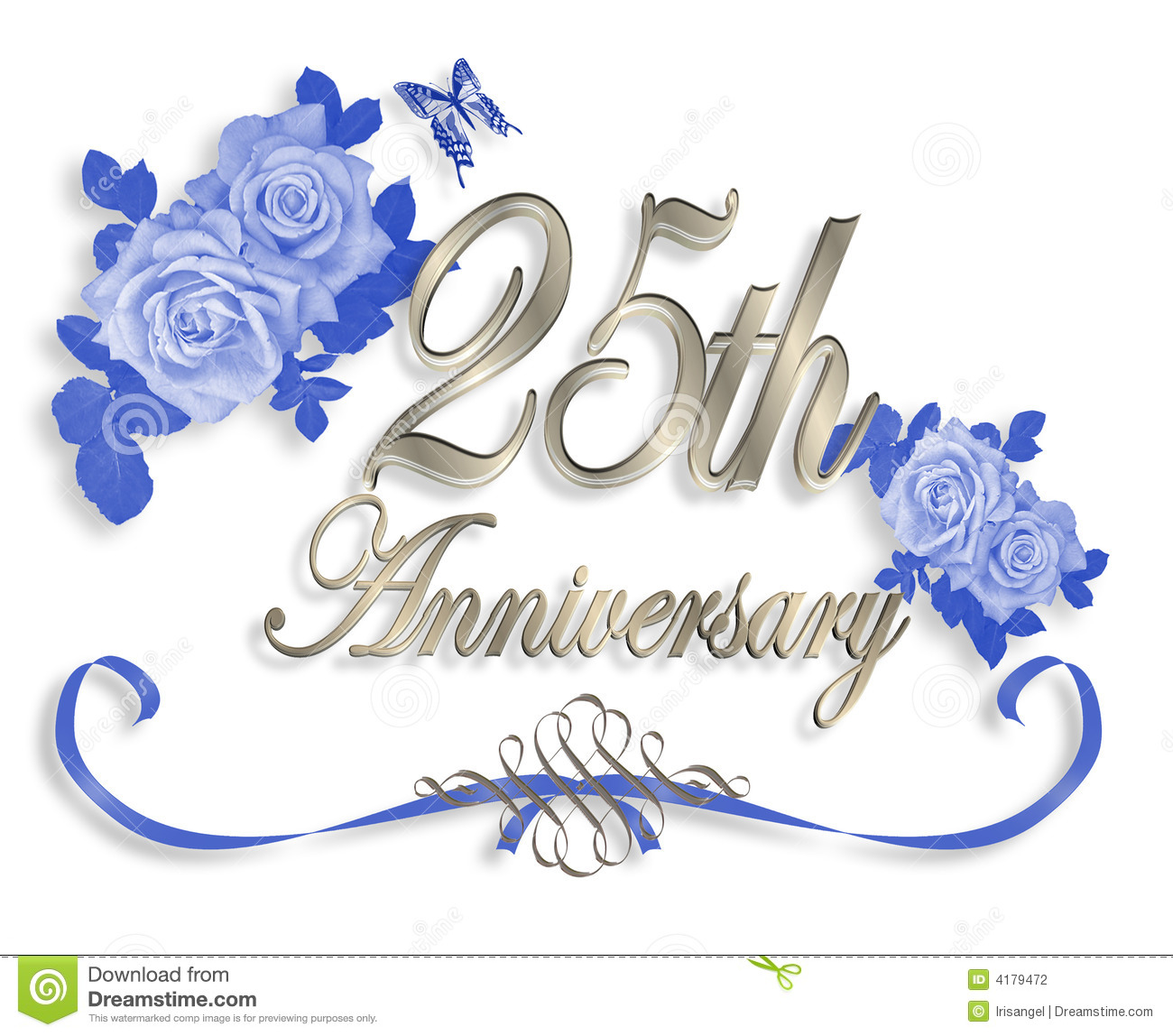 25th Anniversary Clipart Group with 54+ items.
