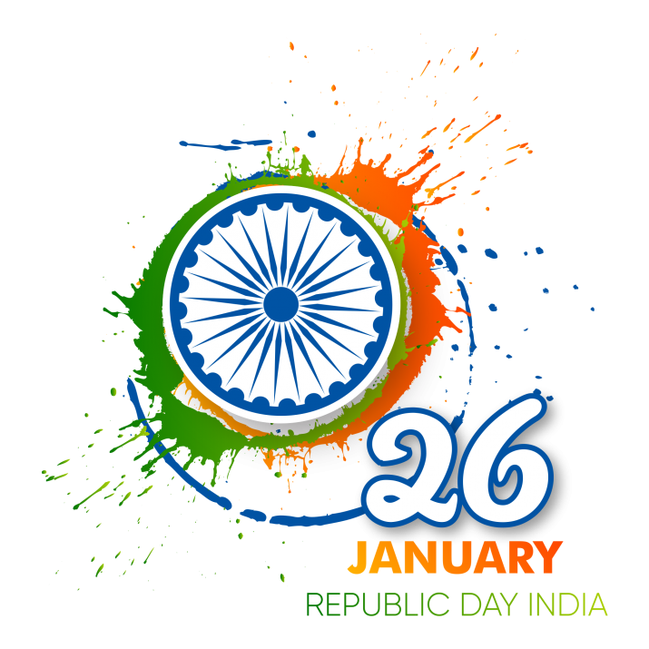 26 January India Republic Day PNG.