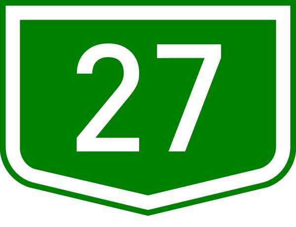 Number 27 Clipart.