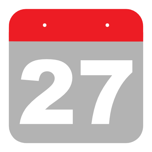 27th, calendar, day, month Icon Free of Calendar Icons.