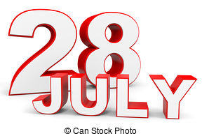 July 28 Stock Illustrations. 44 July 28 clip art images and.