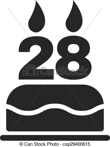 Free Number 28 Clipart Images.