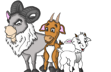 Male Goat Clipart.