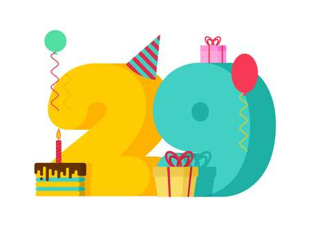 29th Birthday Stock Illustrations, Cliparts And Royalty Free 29th.