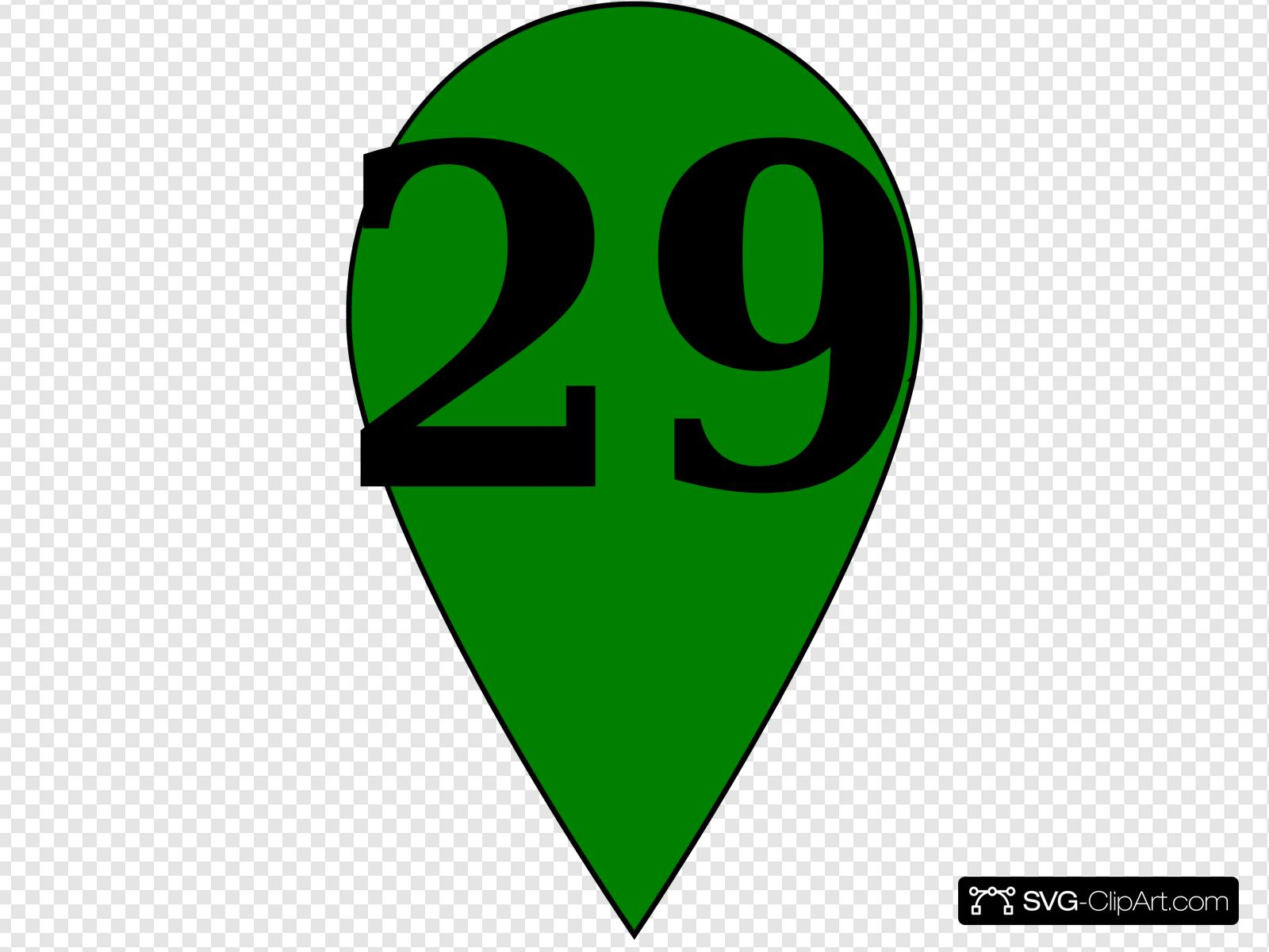 Green 29 Clip art, Icon and SVG.