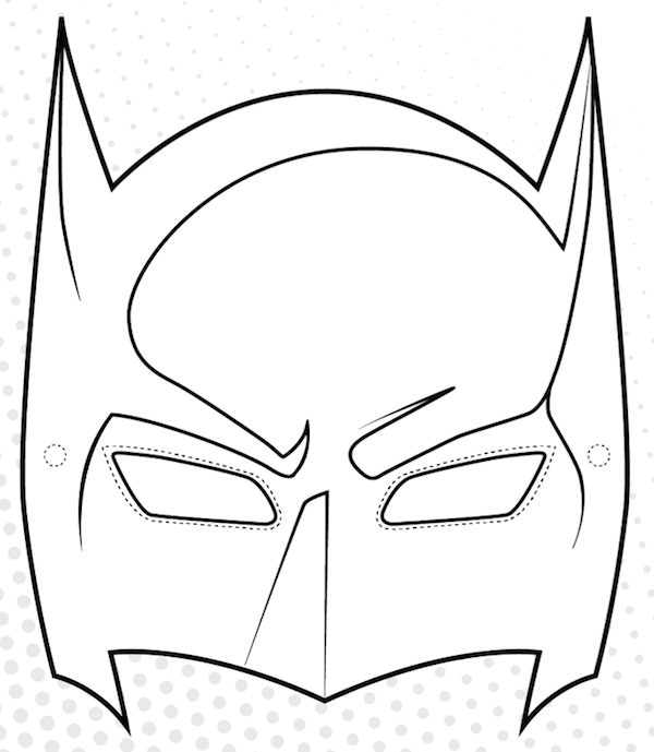 Free Batman Template, Download Free Clip Art, Free Clip Art.