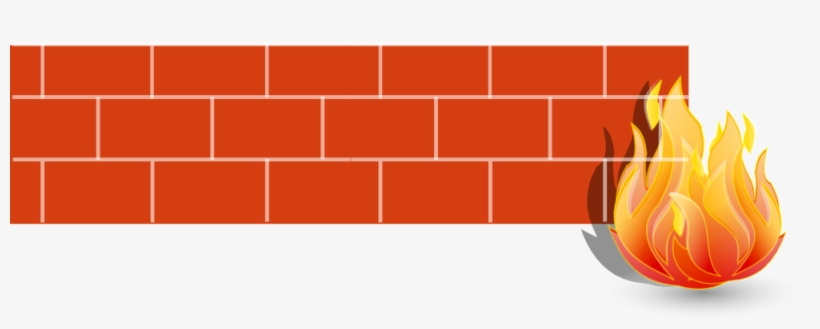 This Graphics Is Firewall 2d About Brick, Computer.