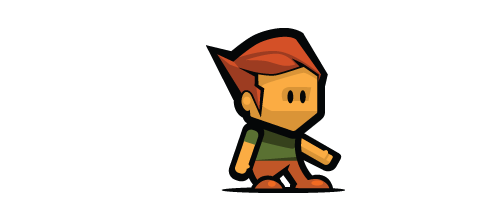 Create a Game Character with HTML5 and JavaScript.