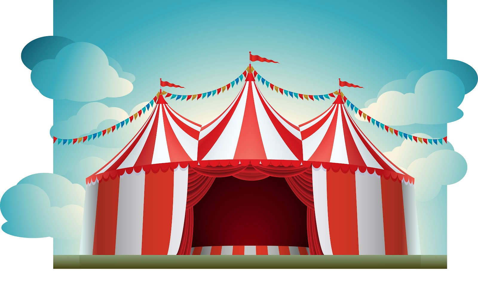 Carnival Tent Background HD Wallpapers.