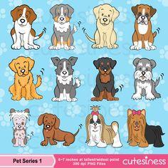 Cute Puppy Dogs.