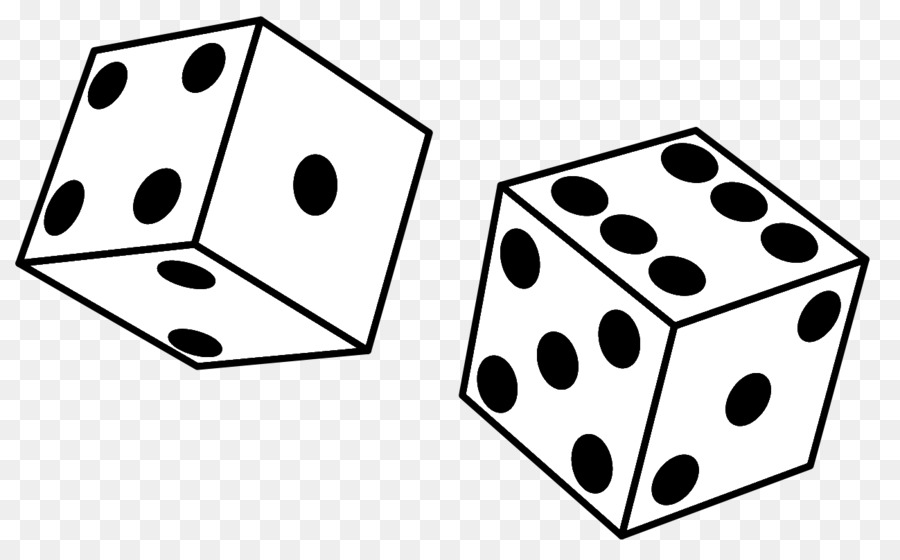 Dice And Cards Clipart.