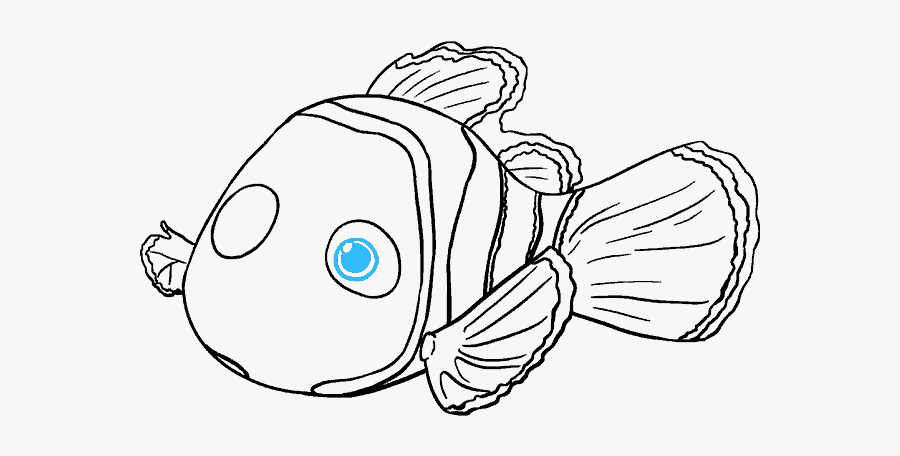 Fish Head Drawing At.