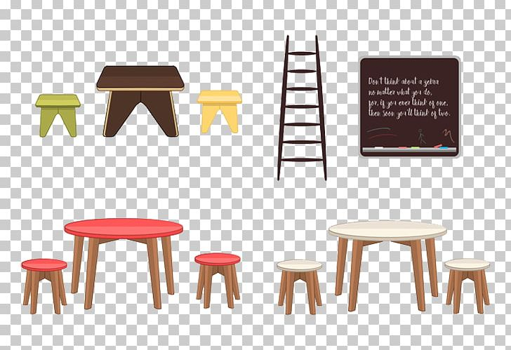 Table Chair Furniture PNG, Clipart, 2d Furniture, Bedroom.