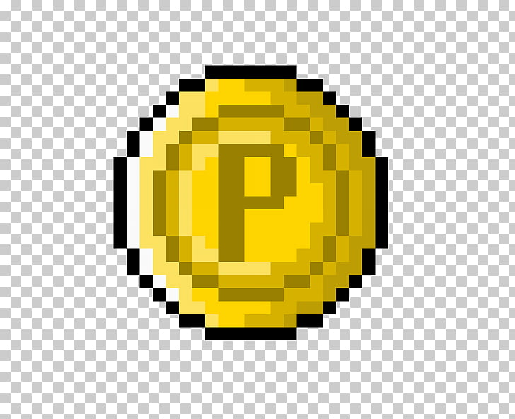 Pixel art Drawing graphics , 2d coin sprite PNG clipart.