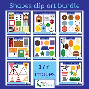 shapes bundle (2D objects).
