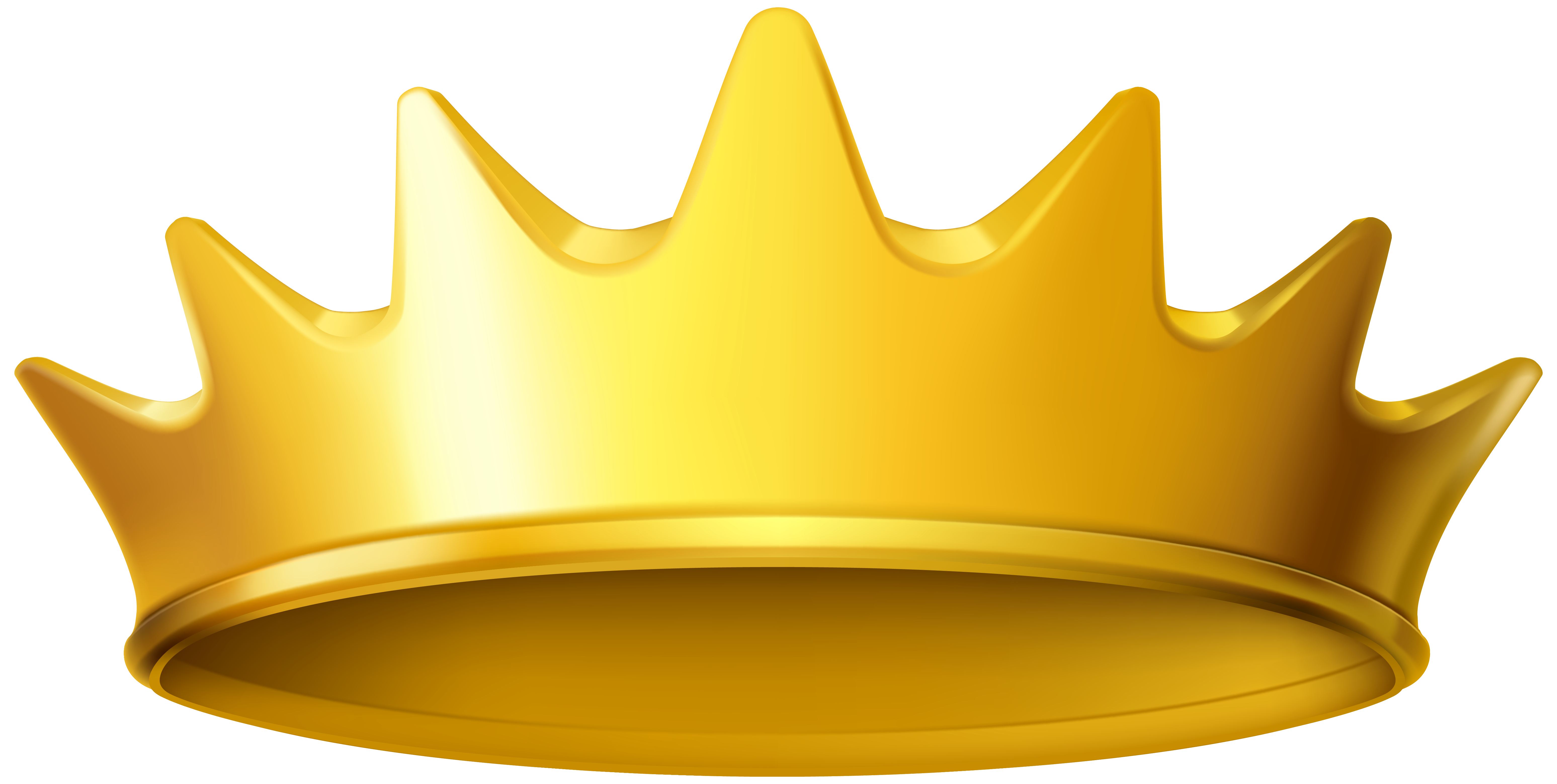 Gold Crown Clipart No Background.