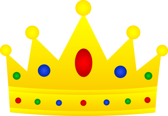 Simple Silver Crown Gold Crown Cartoon Png.