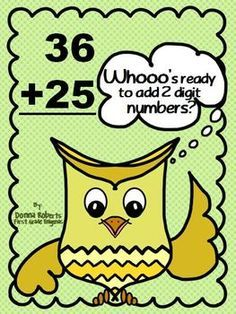 Double Digit Addition Without Regrouping Quiz.