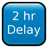 2 Hour Delay Clipart.