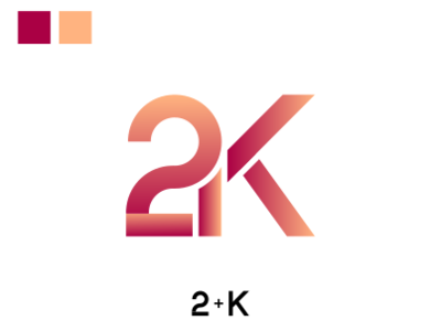 2k Logo by Mulki on Dribbble.