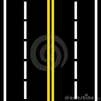 Road lanes clipart.