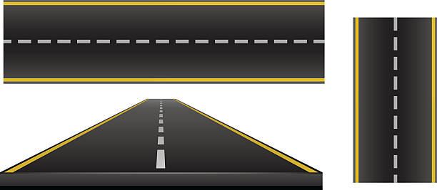 Two Lane Highway Clip Art, Vector Images & Illustrations.
