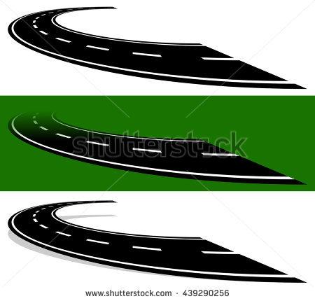 Two Lane Highway Stock Vectors, Images & Vector Art.
