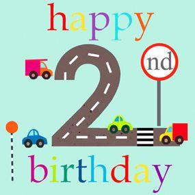 Happy 2nd Birthday.
