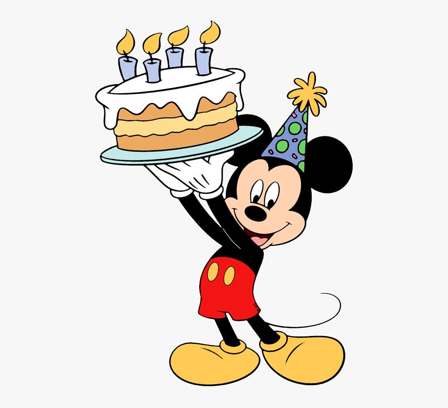 Mickey Mouse Birthday Cake.
