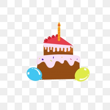 2nd Birthday Cake Png, Vector, PSD, and Clipart With Transparent.