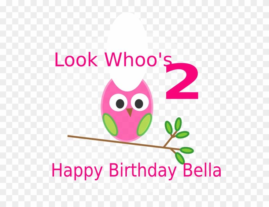 Owl 2nd Birthday Clip Art.