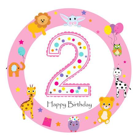 2nd Birthday Stock Illustrations, Cliparts And Royalty Free 2nd.