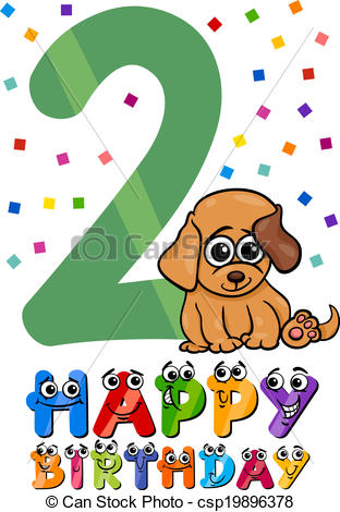 Second birthday Clip Art and Stock Illustrations. 516 Second.