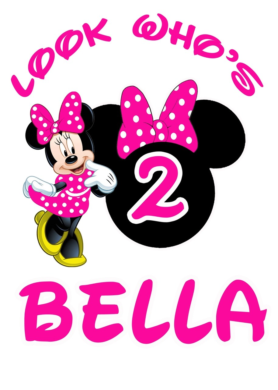 Minnie mouse 2nd birthday clipart 7 » Clipart Portal.