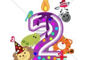 2nd birthday clipart 1 » Clipart Portal.