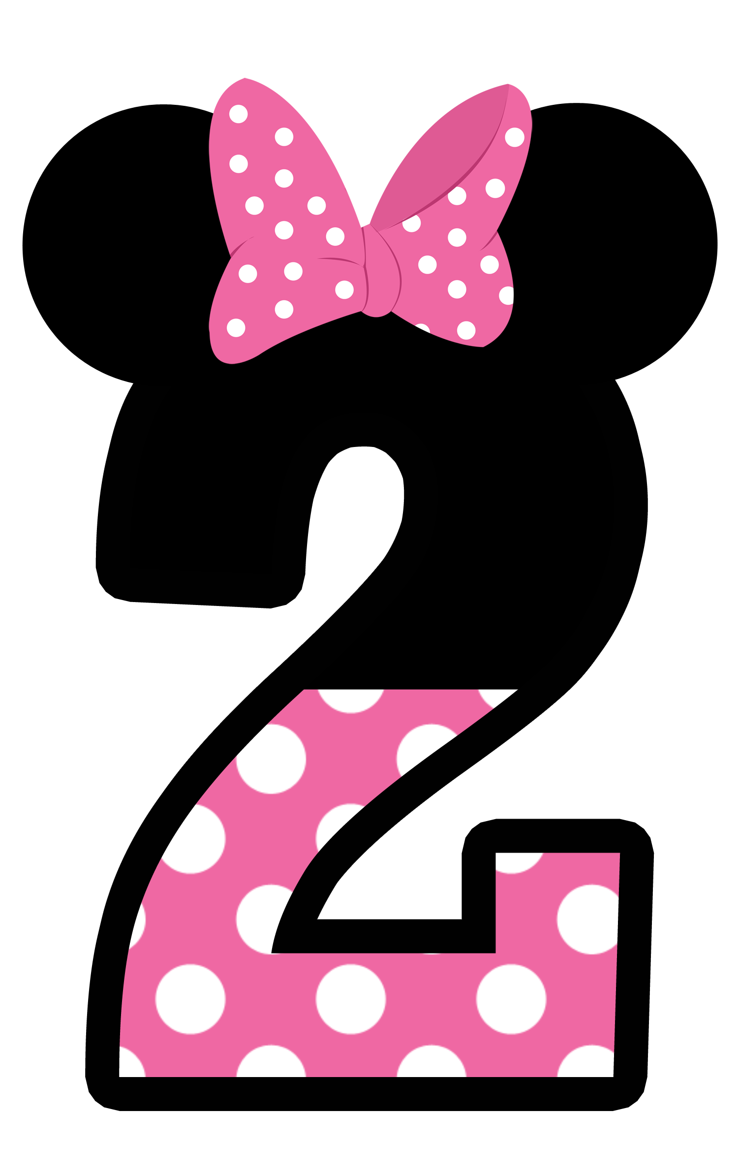 28+ Collection of Minnie Mouse 2nd Birthday Clipart.