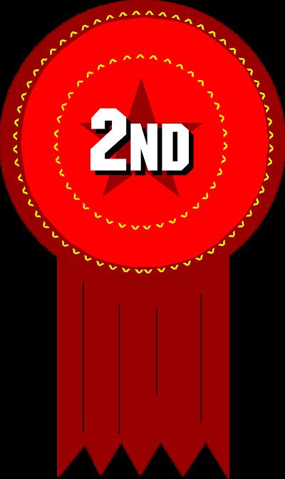 2nd place ribbon clip art.