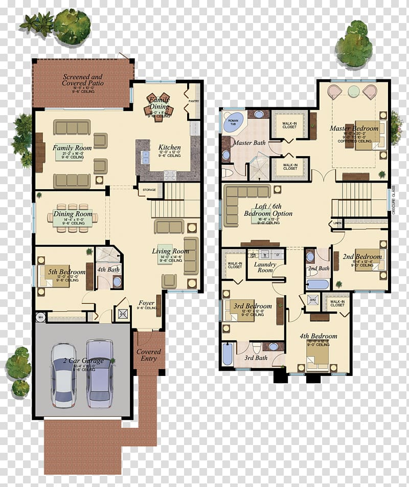 Floor plan Naples House plan, house transparent background.