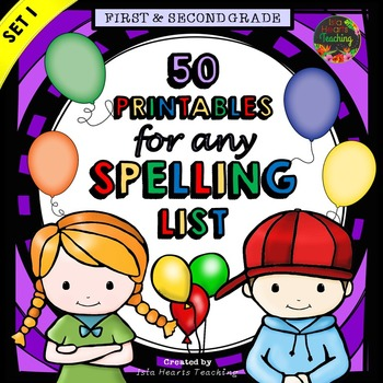 1st Grade Spelling & 2nd Grade Spelling Activities for Spelling Practice.