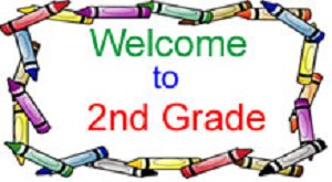Welcome To 2nd Grade Clipart.