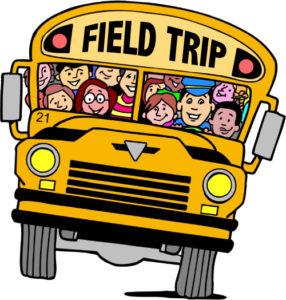 School Bus Field Trip Clipart.