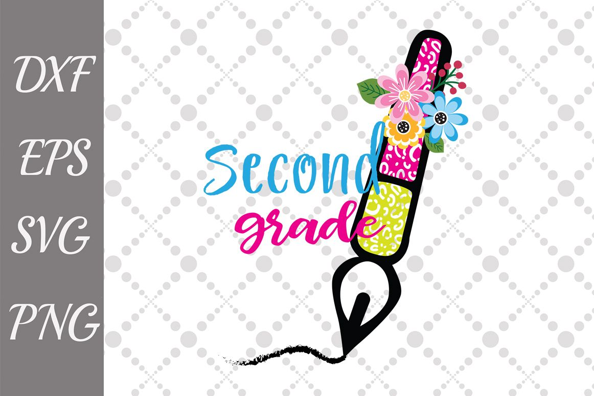 2nd Grade rocks Svg, SECOND GRADE SVG, Back to School Svg.