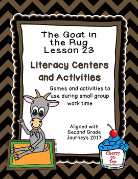 Journeys 2nd Grade Literacy Center.