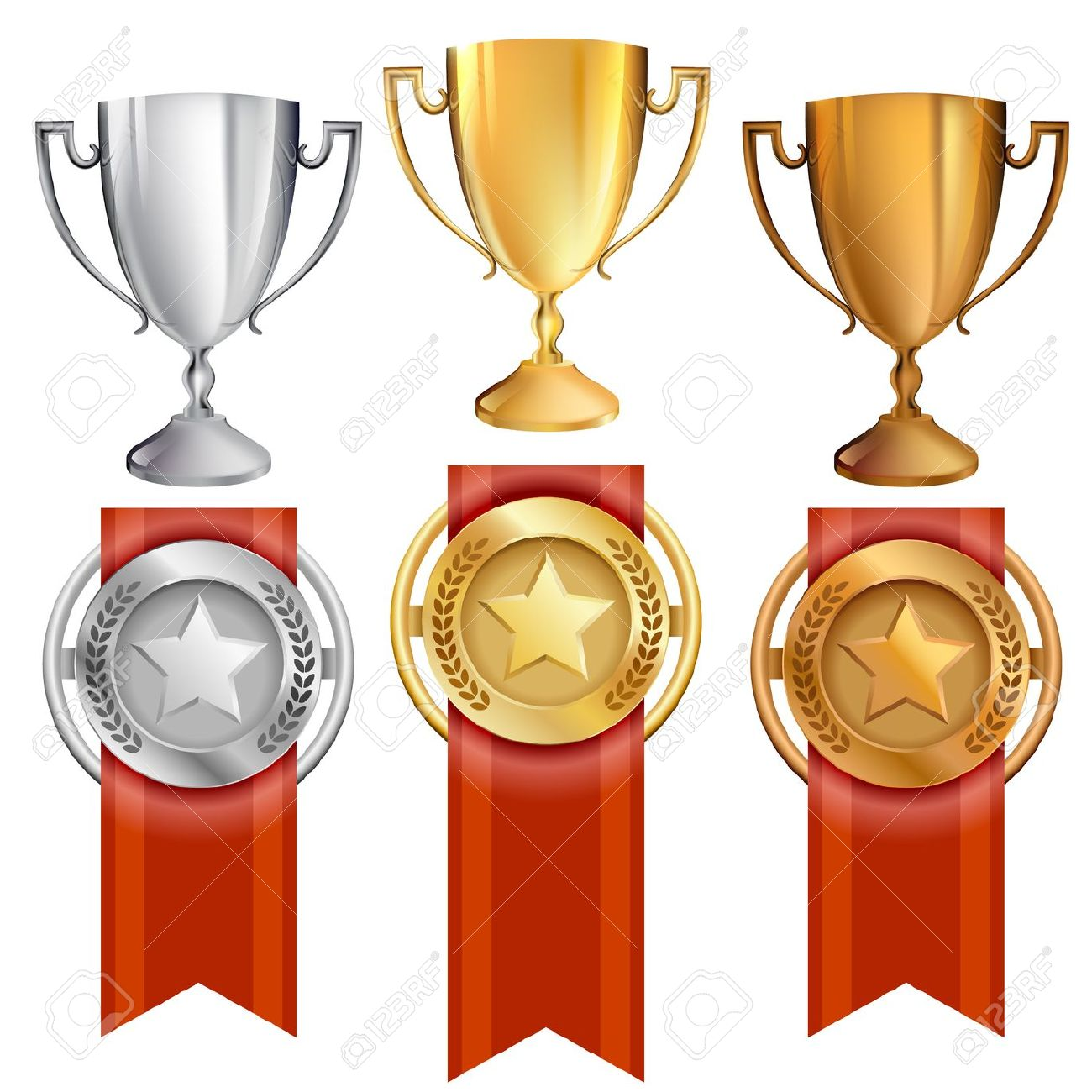 874 Awards free clipart.
