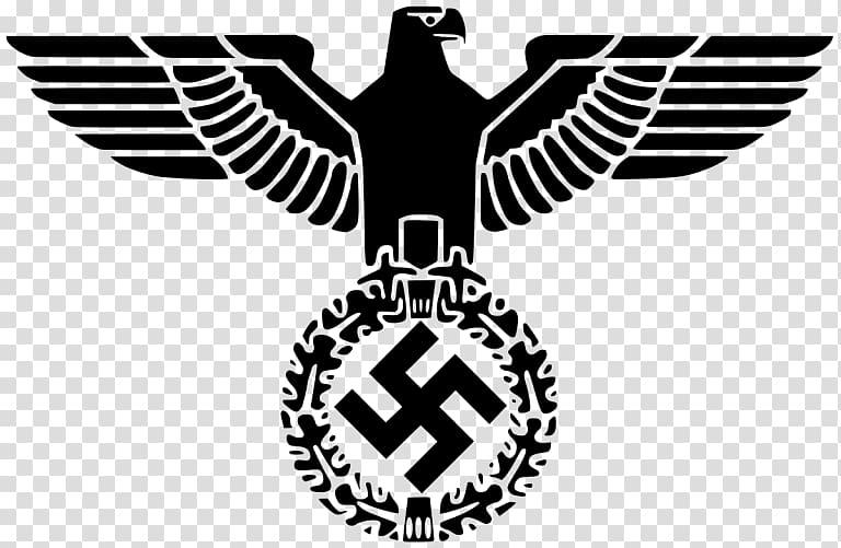Nazi Germany German Empire Nazi Party Reichsadler, eagle.