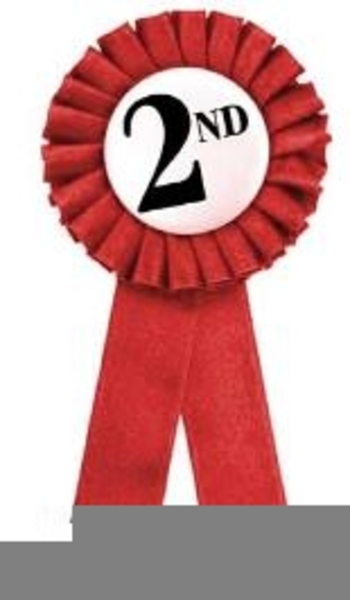 Free Clipart Nd Place Ribbon.