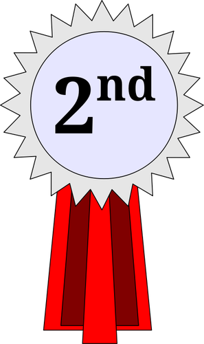2nd Place Medal Clipart.
